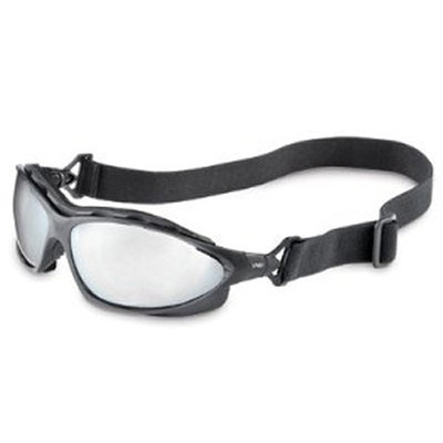 Uvex S0604X Black/Reflective Seismic Eyewear Safety Glasses