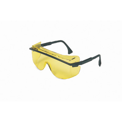 Uvex S2501 Astro OTG 3001 Amber Safety Glasses