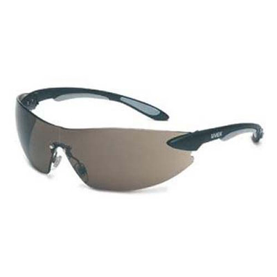 Uvex S4401 Ignite Black/Silver Lens Safety Glasses