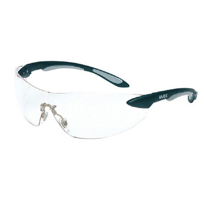 Uvex RWS-51037 Ignite Clear/Red Metalic Frame Safety Glasses