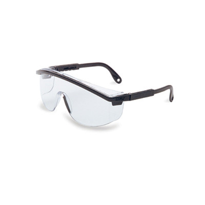 Uvex S135 Spatula Black Clear UD Safety Glasses