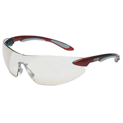 Uvex S4412 Ignite Red/Silver Reflector 50 Safety Glasses