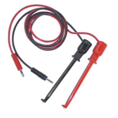 "E-Z Hook BXJL-36R/B Test Leads 36"" W/Straight Plug"