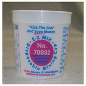 E-Z Mix 70032 1 Quart Disposable Mixing Cups 100/Box