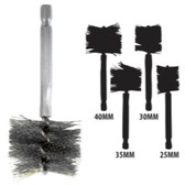 Innovative Products Of America 8037 25-40 mm Stainless Steel Brush Kit