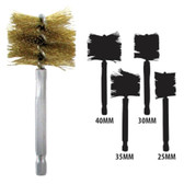 Innovative Products Of America 8038 Brass 25mm-40mm Bore Brush Set