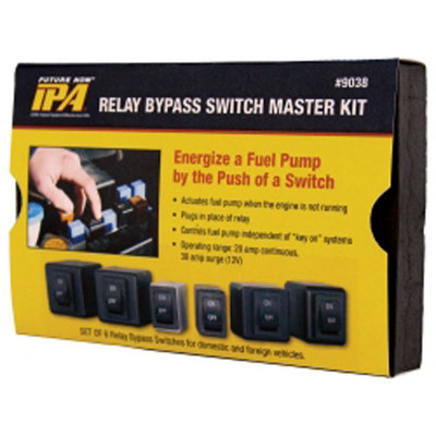 Innovative Products Of America 9038 6 Piece Master Relay Bypass Switch Combo Set