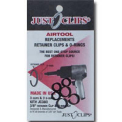 Just Clips 500-12 12Pack 1/2 Anvil Retainer Clip Refill Kit