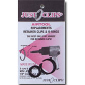 "Just Clips 750-5 5 Pack 3/4"" Anvil Retainer Clip Refill Kit"