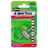 Slime 2044-A 4-Way Valve Tool