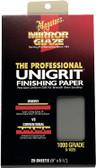 Meguiars S1025 Sanding Paper 1000 Grit - 25 Sheets