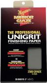 Meguiars S2525 Sanding Paper 2500 Grit - 25 Sheets