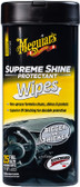 Meguiars G4000 Supreme Shine Protectant Wipes