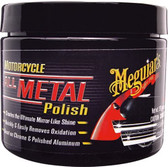 Meguiars MC20406 Motorcycle Metal Polish 6 Oz.