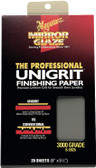 Meguiars S3025 Finishing Paper 3000 Grit - 25 Sheets