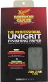 Meguiars S2025 Sanding Paper-2000 Grit - 25 Sheets