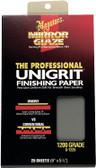 Meguiars S1225 Sanding Paper-1200 Grit - 25 Sheets
