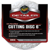 "Meguiars DMC6 DA Microfiber Cutting Disc 6""  - 2 Pack"