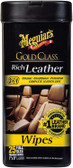 Meguiars G10900 Gold Class Rich Leather Wipes