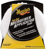 Meguiars X3080 Even Coat Microfiber Applicator Pads - 2 Pack
