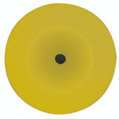 Wizards 11204 Foam Cut Yellow Buffing Pad 8""