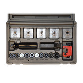 "Cal Van Tools 165 In-Line Flaring Tool, For 3/16"" To 3/8"", 4.75MM To 8MM, Makes Single, Double Or Bubble Flares, Case"