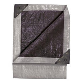Good Year 6317 10' X12' Double Duty Tarp Silver/Black