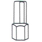 Lock Technology 400-16 Large Chrysler Cylinder, for 4000 Kit