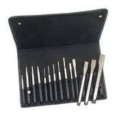 Mayhew Tools 15070 14Pc Punch & Chisel Set W/Pouc