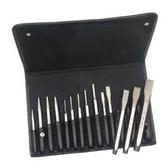 Mayhew Tools 15070 14Pc Punch & Chisel Set W/Pouc