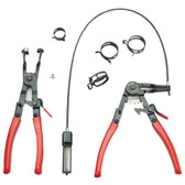 Mayhew Tools 28655 Hose Clamp Plier Set 2 Pieces, Spring Loaded
