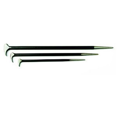 "Mayhew Tools 60150 Lady Foot Pry Bar Set, 3 Pieces, 12"", 16"", 21"""