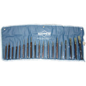 Mayhew Tools 61019 Punch and Chisel Set 19 Piece, with Assorted Cold Chisels
