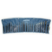 Mayhew Tools 61050 Punch and Chisel Set, 24 Pieces