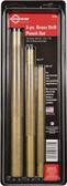 Mayhew Tools 61360 Brass Drift Punch Set, 3 Pieces