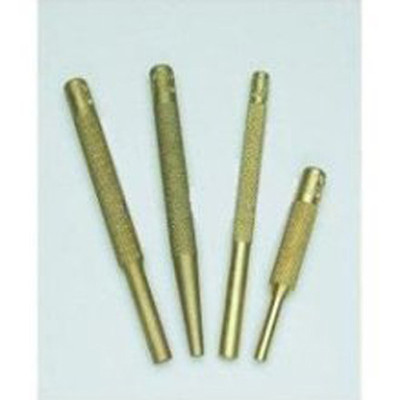 Mayhew Tools 62277 Brass Punch Set, 4 Pieces