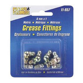 Plews 11-957 Metric Grease Fitting Assortment, 8 Piece