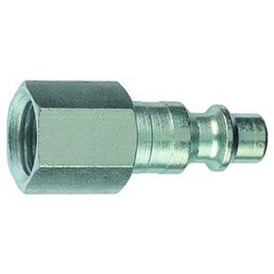 """Plews 12-235 Air Plug 1/4"""" I/M 1/4"""" FNPT"""