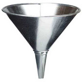 Plews 75-003 Funnel Galvanized 2Qt