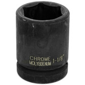 "Performance Tool M740-36 3/4"" Dr 1-1/8"" Impact Socket"