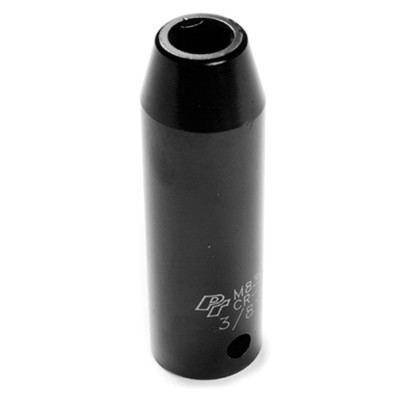 "Performance Tool M839 1/2"" Dr 6Pt Deep Impact Socket 3/8"""
