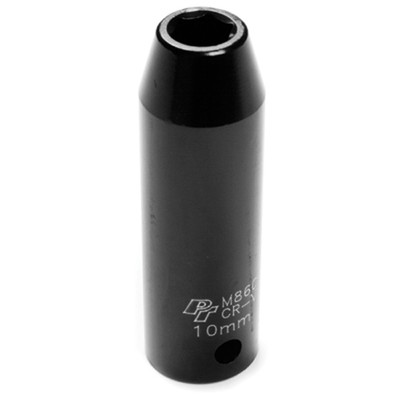 "Performance Tool M860 1/2"" Dr 10MM Deep Impact Socket"