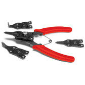 Performance Tool W1159 5 Pc Comb Snap Ring Plier Set