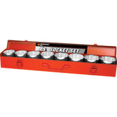 "Performance Tool W1179 9 Pc 3/4"" Dr Jumbo Socket Set"
