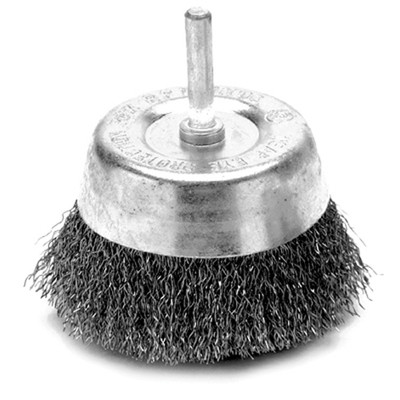 "Performance Tool W1213 3"" Cup Wire Brush - Fine"