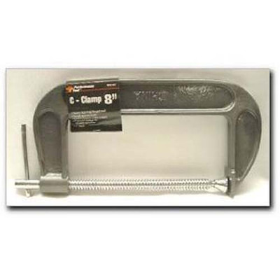 "Performance Tool W215C 8"" ""C"" Clamp Malleable Iron"