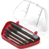 Performance Tool W2965 5 Pc Screw Extractor Set