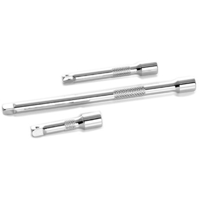 """Performance Tool W36940 Chrome Extension Set, 1/4"""" Drive, 3 Piece, with 2"""", 3"""" and 6"""" Extensions"""