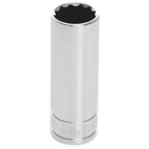 Performance Tool W38620 3/8'' Dr 12Pt Deep Socket 5/8""