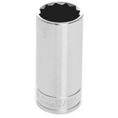 "Performance Tool W38626 3/8"" Dr 12Pt Deep Socket 13/16"